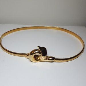 Gold Cobra Belt Size S/M